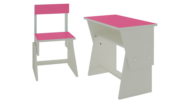 Adona Utopia Extendable Toddler Study Desk and Chair Set