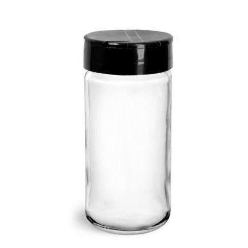 GLASS BOTTLE WITH SHAKER LID