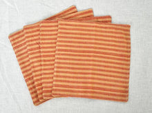 Load image into Gallery viewer, CLOTH NAPKINS SNACK SIZE - SET OF 4