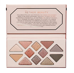 EYE SHADOW PALETTE - ROSE QUARTZ CRYSTAL GEMSTONE