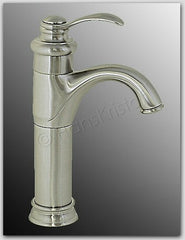11in Tall Traditional Polished Chrome Finish Vessel Sink Single Handle Filler Bathroom Faucet 46CH