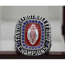 Load image into Gallery viewer, SPECIAL EDITION Fantasy Football Championship Ring 18k White Gold Plated (2019) - Premium Series