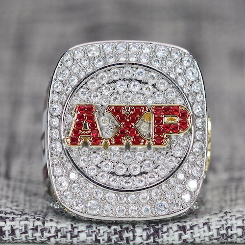 Alpha Chi Rho CROWS Fraternity Ring (ΑΧΡ) - Shine Series