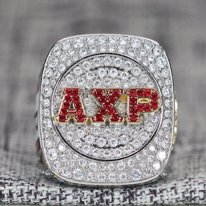 Alpha Chi Rho CROWS Fraternity Ring (ΑΧΡ) - Premium Series