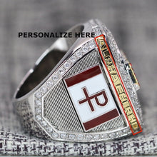 Load image into Gallery viewer, Alpha Chi Rho CROWS Fraternity Ring (ΑΧΡ) - Premium Series