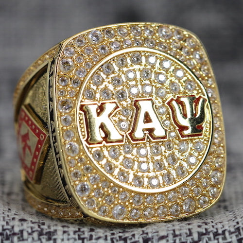 Kappa Alpha Psi Fraternity Ring (ΚΑΨ) - Shine Series