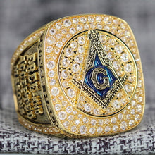 Load image into Gallery viewer, Prince Hall Freemasonry Fraternity Ring - Shine Series