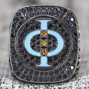 Mu Beta Phi Fraternity Ring (ΜΒΦ) - Dark Shine Series
