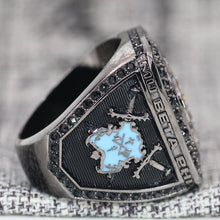 Load image into Gallery viewer, Mu Beta Phi Fraternity Ring (ΜΒΦ) - Dark Shine Series