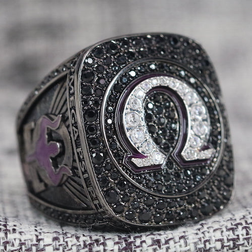 Omega Psi Phi Fraternity Ring (ΩΨΦ) - Dark Shine Series