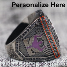 Load image into Gallery viewer, Omega Psi Phi Fraternity Ring (ΩΨΦ) - Dark Shine Series