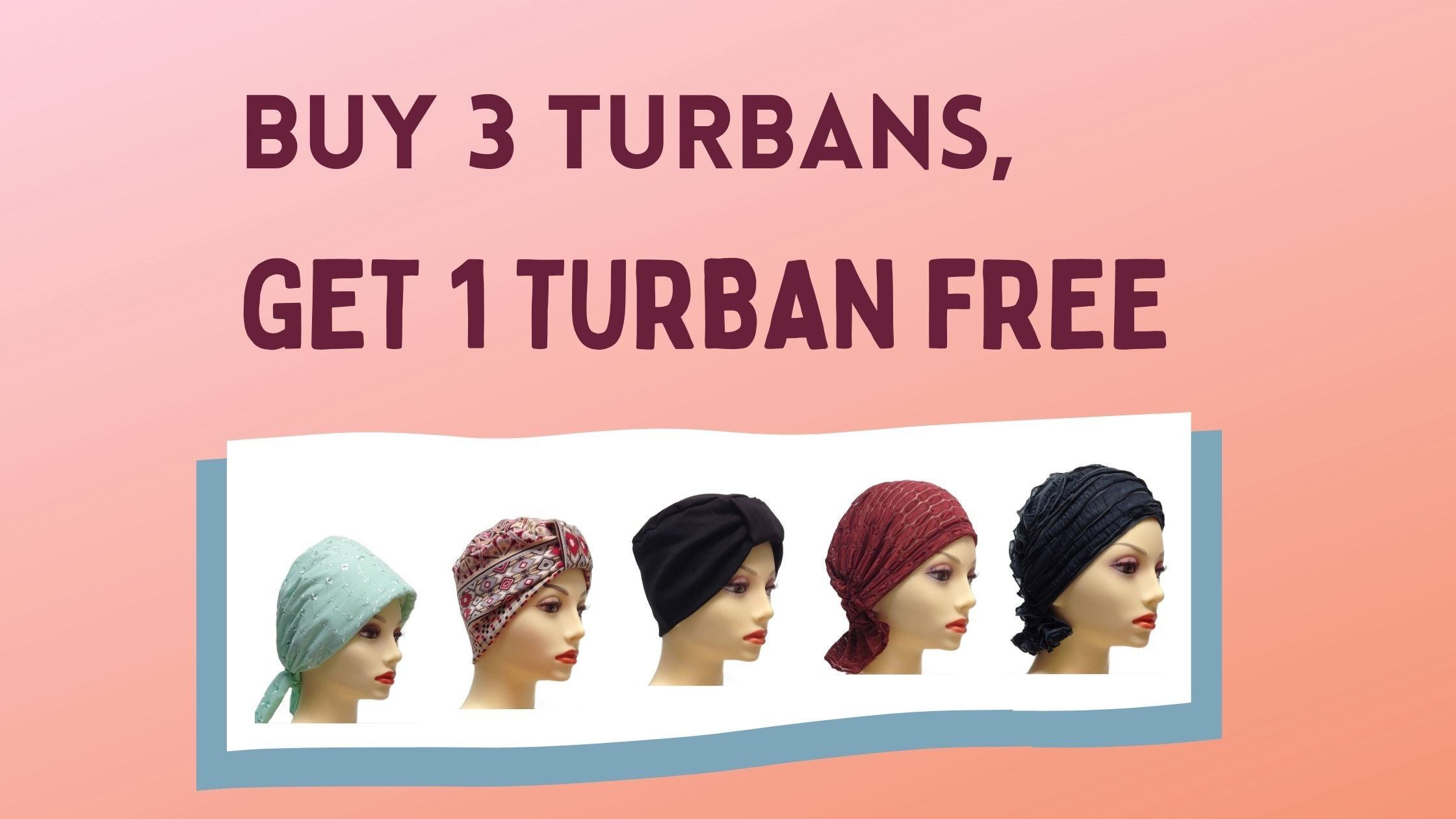 december special at Wig Ave in Austin TX free turban
