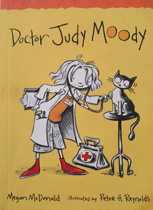 2 books: Doctor Judy Moody, Judy Moody Around the World in 8 1/2 days Like New Judy Moody  (4602615693367)
