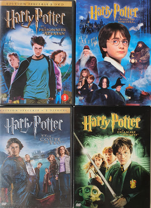 4 DVD for Harry Potter En, FR Harry Potter  (4601804488759)