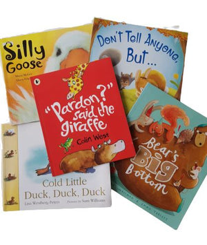 5 Books Set Very Good , 4-8 Yrs ReCuddles  (6287018131641)