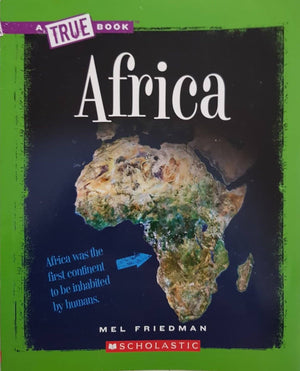 A True Book AFRICA Like New, 8-10 Yrs Recuddles.ch  (6706330730681)
