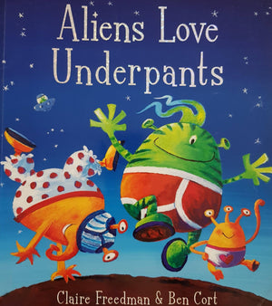 Aliens Love Underpants Like New Recuddles.ch  (6100592230585)