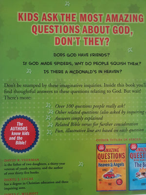 Amazing Questions Kids Ask About GOD Like New Recuddles.ch  (6097249239225)