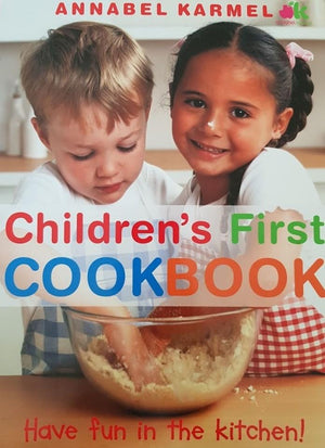 Annabel Karmel - Children's First Cookbook Like New, 6+Yrs Recuddles.ch  (6574762852537)