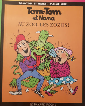 Au Zoo, Les Zozos Like New Tom -Tom et Nana  (4623129313335)