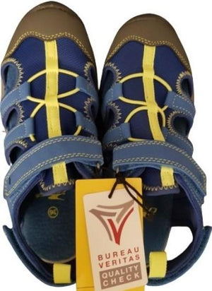 Blue Summer Sandals Crane, Size 36 Crane  (4630308159543)