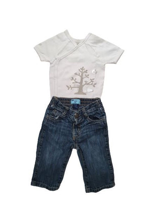 Body+ Jeans set Berlingot, 6-12 months Berlingot  (4608319258679)