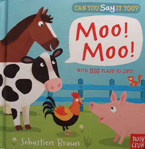 Can you say it too Moo Moo Well Read Recuddles.ch  (6174008311993)