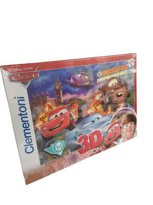 Cars- Mission Improbable puzzle New with Tags The Gift Box Project  (6114661335225)