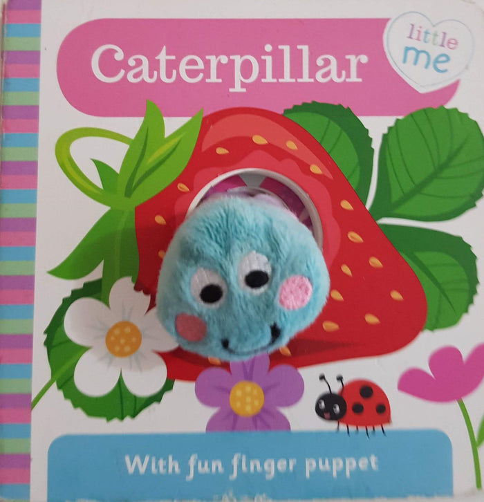 caterpillar  puppet book