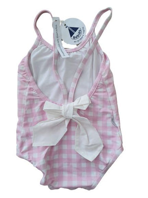 Checked Swimsuit Babidu, 2-3 yrs Babidu  (4610898886711)