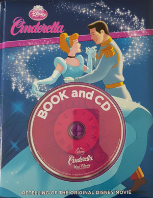 Cinderella Like New. 3+ yrs Disney  (6539339759801)