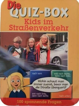 Die Quiz-Box Kids im Strabenverkehr Like New Not Applicable  (4627675578423)