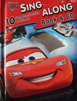 Disney Cars Sing Along Book Like New, 0-5 yrs Disney  (6333753426105)