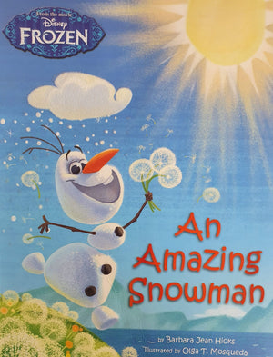 Disney Frozen - An Amazing Showman Like New Disney  (4603216396343)
