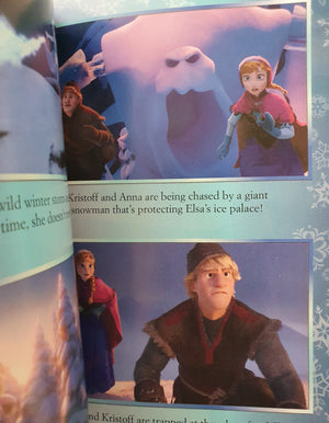 Disney Frozen - Book of the Film Like New Disney  (4601484378167)