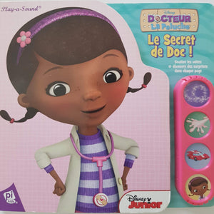 Docteur la peluche le secret de Doc Like New Disney  (4593186406455)