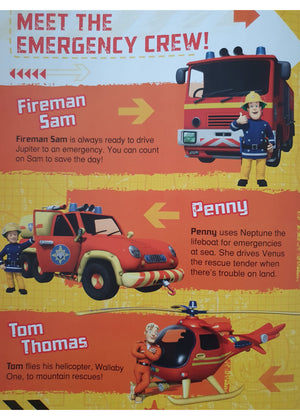 Fireman Sam-Annual 2015 Very Good Not Applicable  (4600971591735)