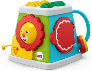 Fisher-Price Turn Activity Cube Like New, 0- 2 yrs ReCuddles  (6545651925177)