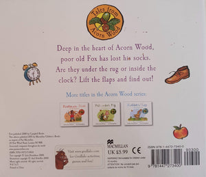 Fox's Socks Like New,English Julia Donaldson  (6088029405369)