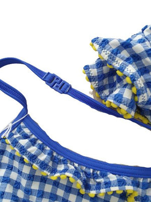 Frill Bikini Set - Blue Mini Boden, 3-4 yrs Mini Boden  (4608320012343)