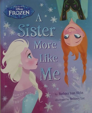 Frozen - A Sister More Like Me Like New Disney  (6192914497721)