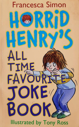 Horrid Henry's All Time Favourite Joke Book Like New, 6+ Yrs Horrid Henry  (6557552902329)