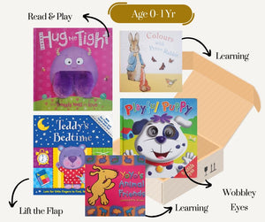 Interactive Books Set 0 - 1 Yr Recuddles.ch  (6277711560889)
