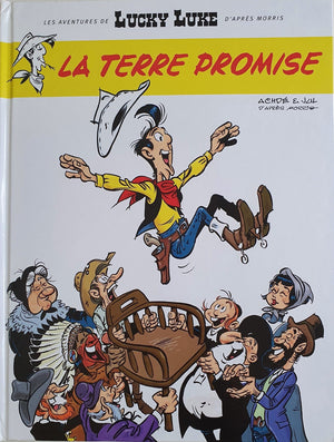 La terre promise Like New Lucky Luke  (6071794303161)