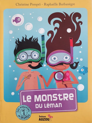 Le Monstre Du Léman Like New, 8+ Yrs Recuddles.ch  (6693586141369)