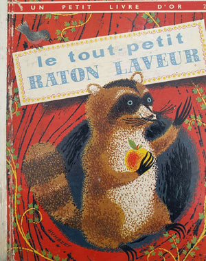 le tout - petit RATON LAVEUR Very Good Not Applicable  (6075335180473)