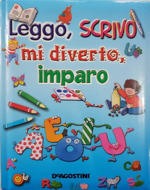 Leggo, Scrivo, mi diverto, imparo Very Good, 5+ Yrs Olga  (6615518183609)