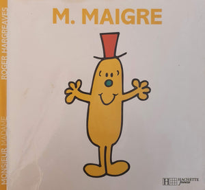 M. Maigre Well Read Mr Men/Little Miss  (4622301757495)