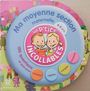 Ma moyenne section de maternelle (Les p'tits incollables) Like New, 4-6 Yrs Recuddles.ch  (6688598065337)