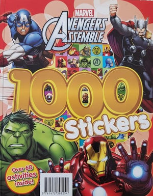 Marvel Avengers Assemble 1000 Stickers Like New Recuddles.ch  (6265037881529)
